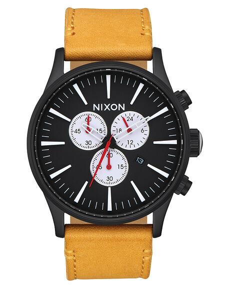 ALL BLACK  GOLDEN MENS ACCESSORIES NIXON WATCHES - A4052448