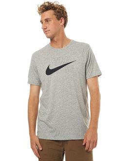 GREY MENS CLOTHING NIKE TEES - 875339063