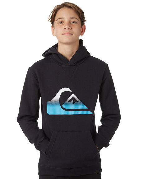BLACK KIDS BOYS QUIKSILVER JUMPERS + JACKETS - EQBFT03396KTWW