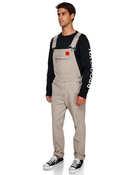 DARK KHAKI MENS CLOTHING RVCA PANTS - R391279DKHA
