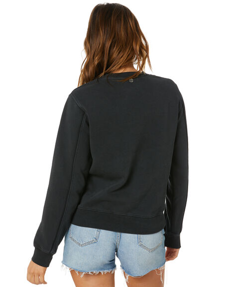 BLACK WOMENS CLOTHING ALL ABOUT EVE JUMPERS - 6466006BLK