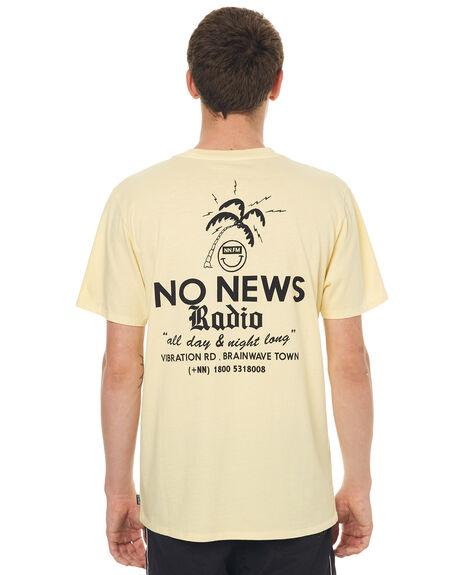 WASHED YELLOW MENS CLOTHING NO NEWS TEES - N5171002WSHYE