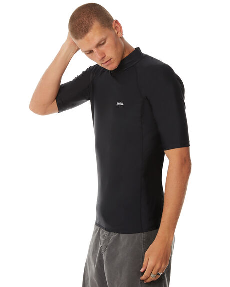 BLACK SURF RASHVESTS SWELL MENS - S5184052BLACK