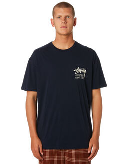 BLUE NIGHTS MENS CLOTHING STUSSY TEES - ST096000BLUNT