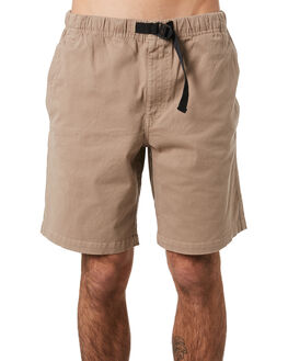 KHAKI MENS CLOTHING DEPACTUS SHORTS - D5201232KHAKI