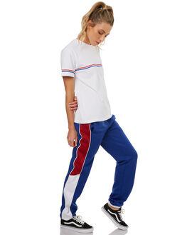 WHITE WOMENS CLOTHING RUSTY TEES - TTL0922WHT