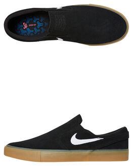BLACK GUM MENS FOOTWEAR NIKE SLIP ONS - AT8899-001