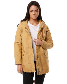 CURRY WOMENS CLOTHING ROXY JACKETS - ERJJK03221TJQ0