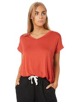 SUNKIST PRINT WOMENS CLOTHING BETTY BASICS TEES - BB527T20SKP