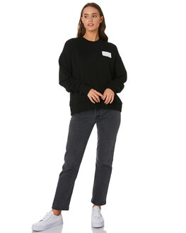 BLACK WOMENS CLOTHING C&M CAMILLA AND MARC JUMPERS - UCMT6983BLK