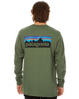 BUFFALO GREEN MENS CLOTHING PATAGONIA TEES - 38933BUFG