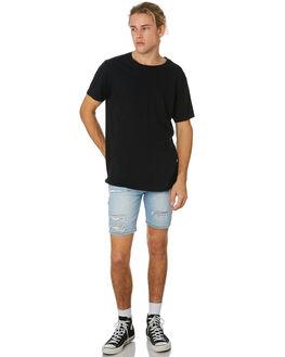 BONDI BLUE DESTROY MENS CLOTHING ROLLAS SHORTS - 150773132