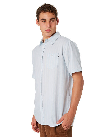 WHITE OUTLET MENS RUSTY SHIRTS - WSM0892WHI