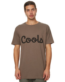 TOBACCO MENS CLOTHING BARNEY COOLS TEES - 104-MC3TOB