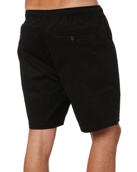 BLACK MENS CLOTHING AS COLOUR SHORTS - 5909BLK