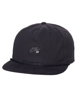 BLACK MENS ACCESSORIES NIKE HEADWEAR - 877114010