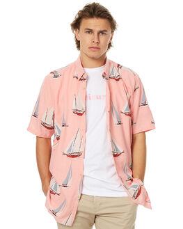 PINK MENS CLOTHING BARNEY COOLS SHIRTS - 305-MC2PINK