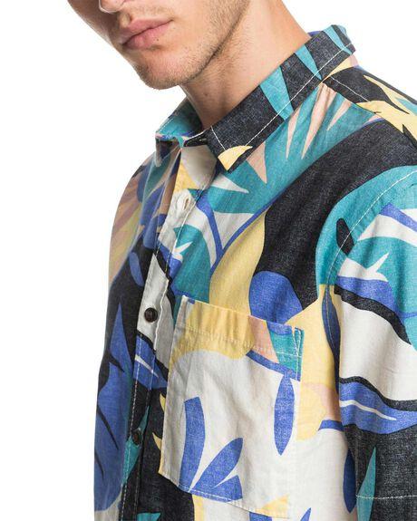 SNOW WHITE TROP MENS CLOTHING QUIKSILVER SHIRTS - EQYWT03982-WBK6