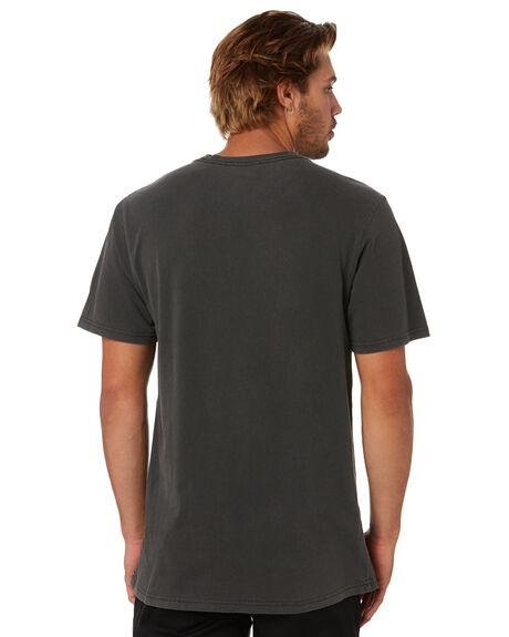 BLACK MENS CLOTHING VOLCOM TEES - A5212003BLK