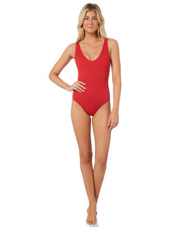 RED WOMENS SWIMWEAR NINE ISLANDS ONE PIECES - M8182352RED