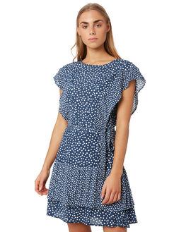 NAVY SPOT WOMENS CLOTHING ELWOOD DRESSES - W9372759X