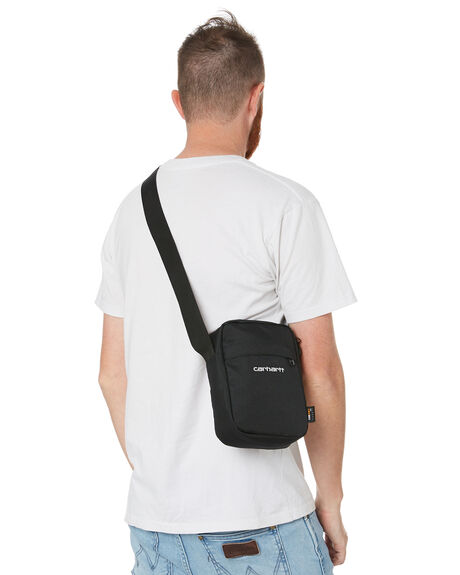 BLACK WHITE MENS ACCESSORIES CARHARTT BAGS + BACKPACKS - I02752789