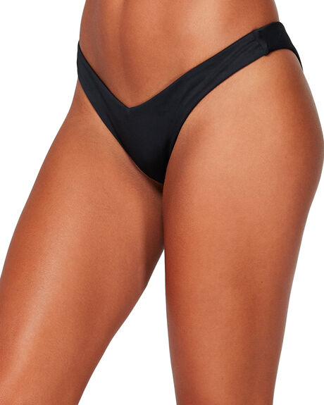 BLACK WOMENS SWIMWEAR BILLABONG BIKINI BOTTOMS - BB-6591576-BLK