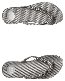 SILVER WOMENS FOOTWEAR BILLABONG THONGS - 6661858SIL