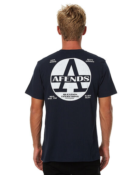 NAVY MENS CLOTHING AFENDS TEES - 01-01-291NVY