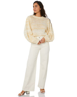 WHITE WOMENS CLOTHING MINKPINK KNITS + CARDIGANS - MP1909806WHT