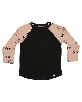 BLACK KIDS BOYS LITTLE LORDS TOPS - AW19314BLK