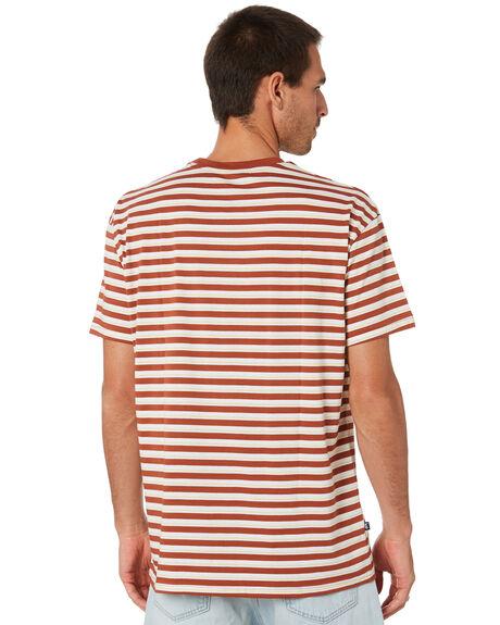 CARAMEL MENS CLOTHING STUSSY TEES - ST005103CRML