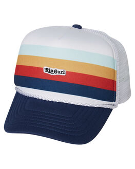 WHITE KIDS GIRLS RIP CURL HEADWEAR - JCABM11000