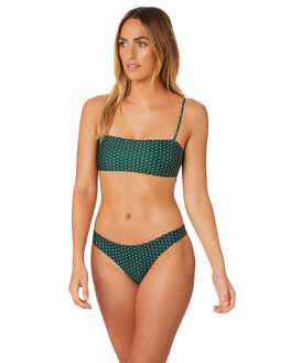 HERBAL DAISY SPOT WOMENS SWIMWEAR STONE FOX SWIM BIKINI BOTTOMS - 1012BHRBSP