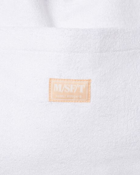 WHITE TERRY WOMENS ACCESSORIES MISFIT BAGS + BACKPACKS - MT702012WHT