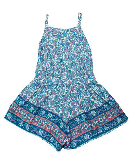 INDAH BLUE KIDS GIRLS SWEET CHILD OF MINE DRESSES + PLAYSUITS - SMU18VGPLYSTIND