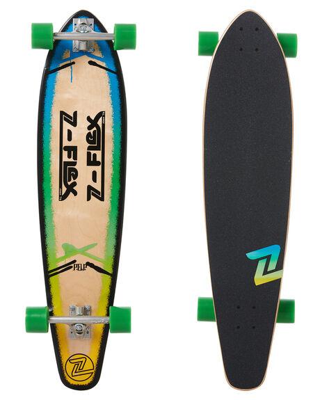 POP BLUE BOARDSPORTS SKATE Z FLEX COMPLETES - ZFXL0082PBLU