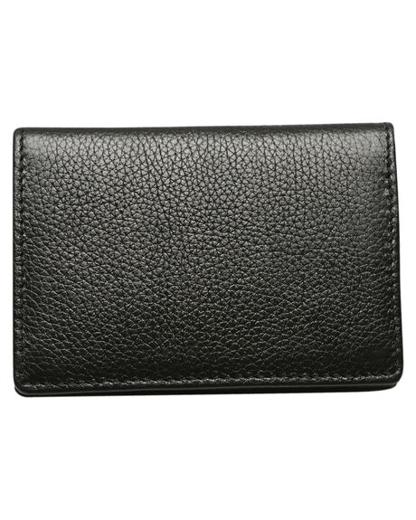 BLACK MENS ACCESSORIES RUSTY WALLETS - WAM0509BLK