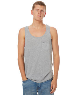 GREY MARLE MENS CLOTHING RIP CURL SINGLETS - CTECZ20085