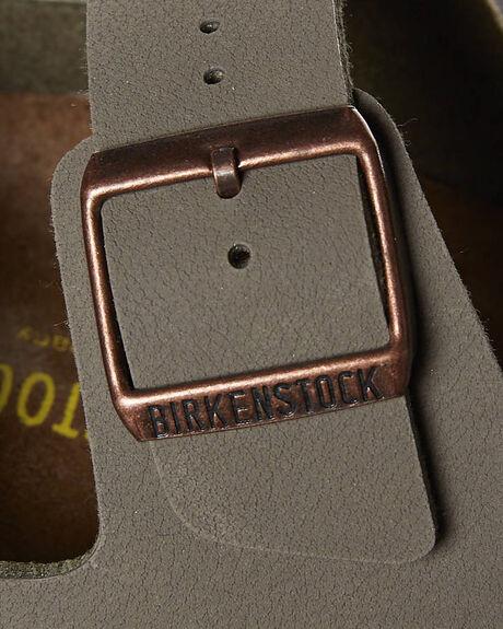 STONE MENS FOOTWEAR BIRKENSTOCK SLIDES - 151211MSTO
