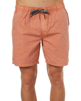 DUSTY CORAL MENS CLOTHING GLOBE SHORTS - GB01726005DCRL