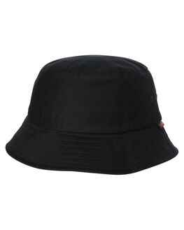 BLACK MENS ACCESSORIES FLEX FIT HEADWEAR - COS80654BLK