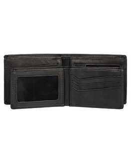 BLACK MENS ACCESSORIES QUIKSILVER WALLETS - EQYAA03895-KVJ0