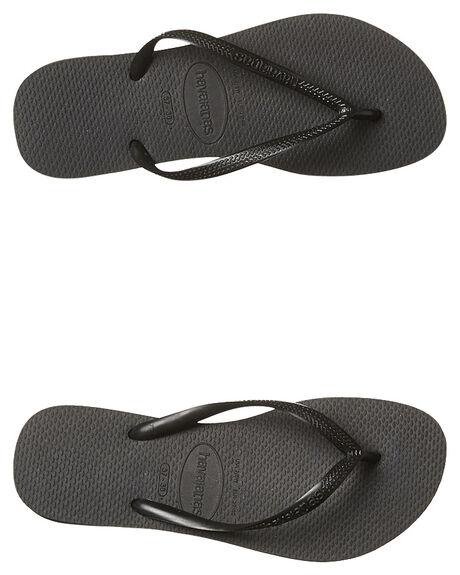 eecd2d397da87c BLACK WOMENS FOOTWEAR HAVAIANAS THONGS - HSBS0090BLK