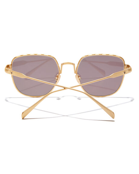 BRUSHED GOLD MENS ACCESSORIES VALLEY SUNGLASSES - S0465BGLD