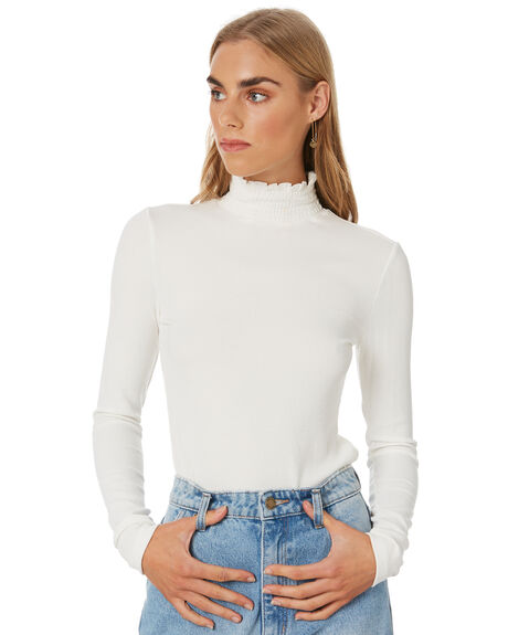 OFF WHITE WOMENS CLOTHING MINKPINK FASHION TOPS - MP2002003OWHT