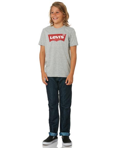 GREY KIDS BOYS LEVI'S TOPS - 37490-0093GRY