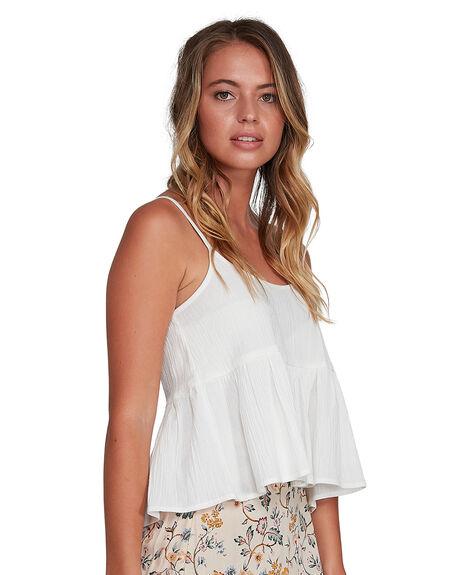 WHITE WOMENS CLOTHING BILLABONG FASHION TOPS - BB-6504137-WHT