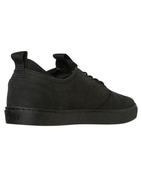 ALL BLACK MENS FOOTWEAR REEF SNEAKERS - A3OLSALB