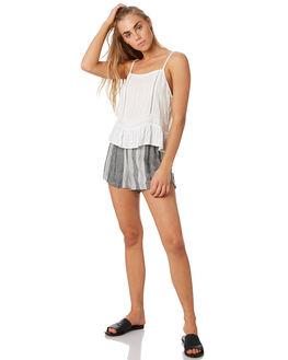 WHITE WOMENS CLOTHING ELWOOD FASHION TOPS - W93305-653